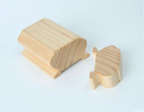 Maderas bravo - Pasamano de madera ...